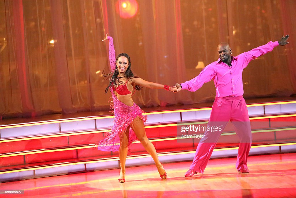 ALL-STARS - 'Episode 1507' - During this week's two-hour performance show on MONDAY, NOVEMBER 5 (8:00-10:01 p.m., ET), the seven remaining couples performed a fusion dance that was chosen by their competitors on last week's show. SMITH