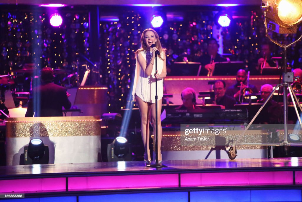 SHOW 'Episode 1508A' Global pop icon Minogue performed 'Locomotion' alongside the renowned 'DWTS' band accompanied by pro dancers Kym Johnson and...