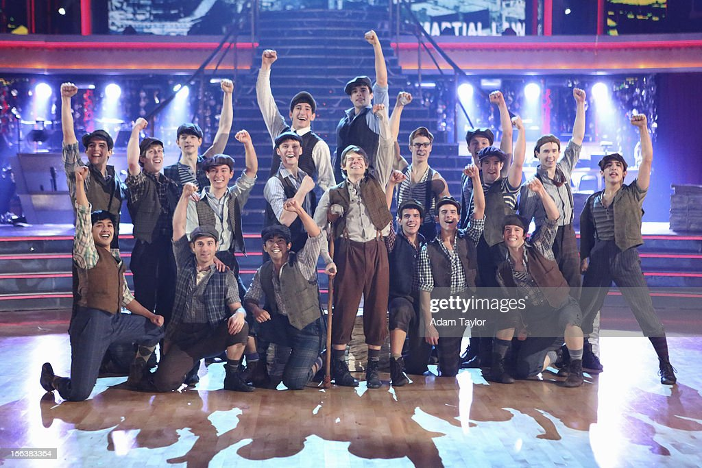 SHOW 'Episode 1508A' The 4th 'Macy's Stars of Dance' performance of the season came from the amazing cast of Disney's smash new Broadway musical...