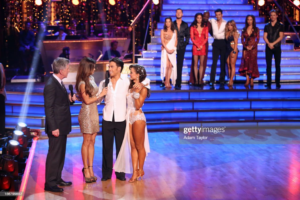 SHOW - 'Episode 1509A' - On this week's double elimination - Apolo Anton Ohno and Karina Smirnoff, and Emmitt Smith and Cheryl Burke - were the next two couples to be sent home, on 'Dancing with the Stars: All-Stars -- The Results Show,' TUESDAY, NOVEMBER 20 (8:00-9:01 p.m., ET), on ABC. HOUGH