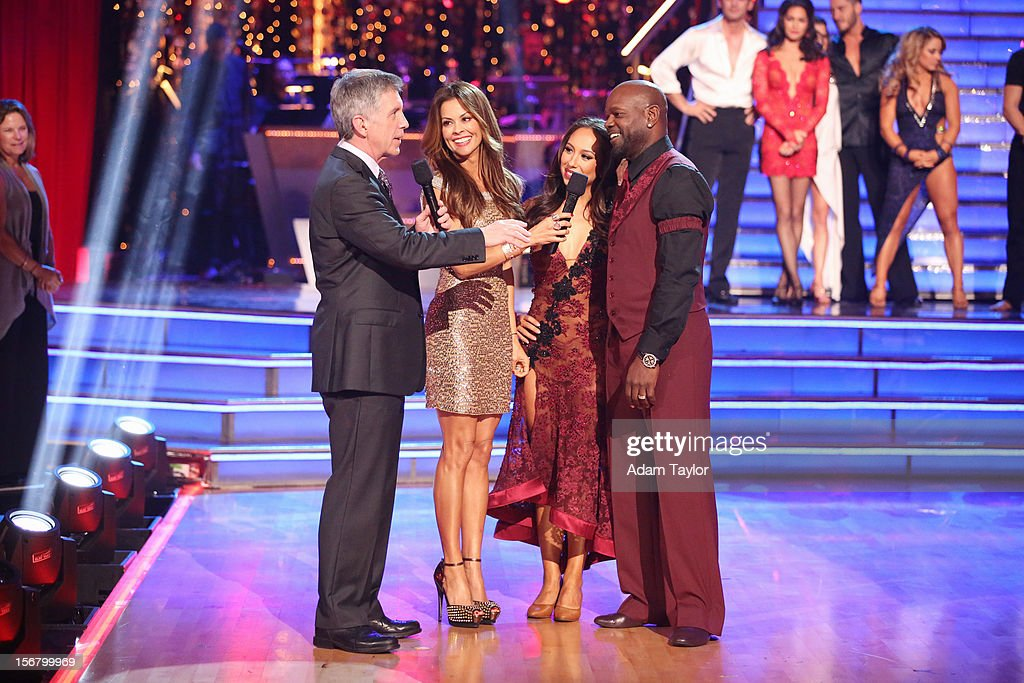 SHOW - 'Episode 1509A' - On this week's double elimination - Apolo Anton Ohno and Karina Smirnoff, and Emmitt Smith and Cheryl Burke - were the next two couples to be sent home, on 'Dancing with the Stars: All-Stars -- The Results Show,' TUESDAY, NOVEMBER 20 (8:00-9:01 p.m., ET), on ABC. TOM