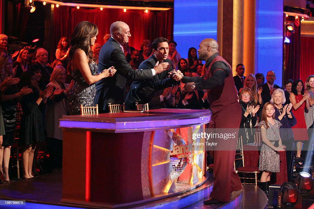 SHOW - 'Episode 1509A' - On this week's double elimination - Apolo Anton Ohno and Karina Smirnoff, and Emmitt Smith and Cheryl Burke - were the next two couples to be sent home, on 'Dancing with the Stars: All-Stars -- The Results Show,' TUESDAY, NOVEMBER 20 (8:00-9:01 p.m., ET), on ABC. CARRIE