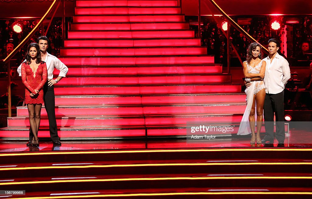 SHOW - 'Episode 1509A' - The remaining couples awaited to see who would be the next two couples eliminated, on 'Dancing with the Stars: All-Stars -- The Results Show,' TUESDAY, NOVEMBER 20 (8:00-9:01 p.m., ET), on ABC. MELISSA