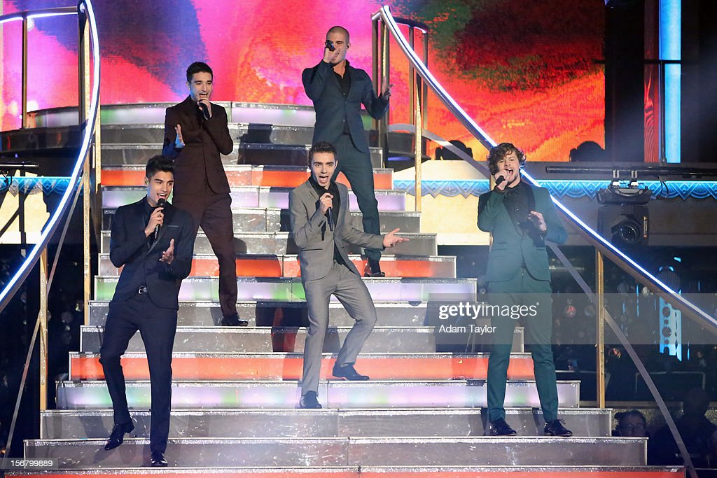 SHOW - 'Episode 1509A' - The UK's new boyband sensation, The Wanted, performed a medley of their current single 'I Found You' and their biggest hit, 'Glad You Came,' on 'Dancing with the Stars: All-Stars -- The Results Show,' TUESDAY, NOVEMBER 20 (8:00-9:01 p.m., ET), on ABC. THE WANTED