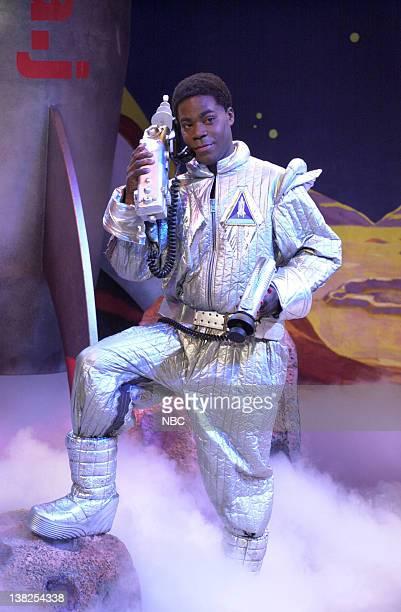 LIVE Episode 16 Air Date Pictured Tracy Morgan as Astonaut Jones during the 'Astronaut Jones' skit on April 6 2002