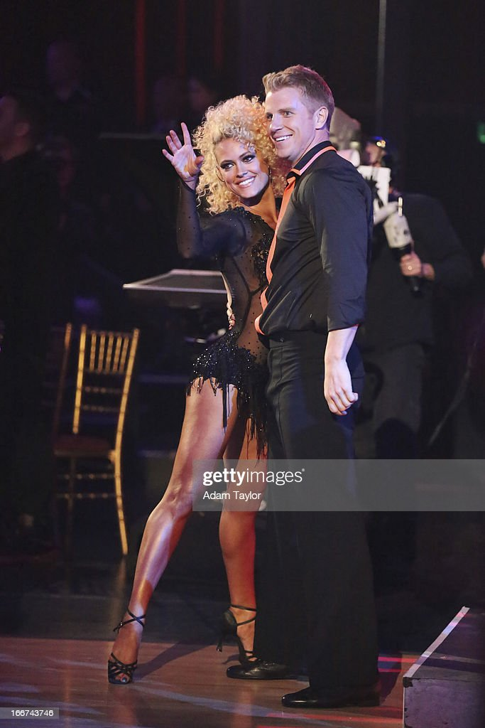 STARS - 'Episode 1605' - Nine remaining couples hit the dance floor and faced an exciting new challenge MONDAY, APRIL 15 (8:00-10:01 p.m., ET). In another first for 'Dancing with the Stars,' a new twist called 'Len's Side By Side Challenge' tasked each couple to perform a portion of their individual dance alongside a pro dance couple. PETA