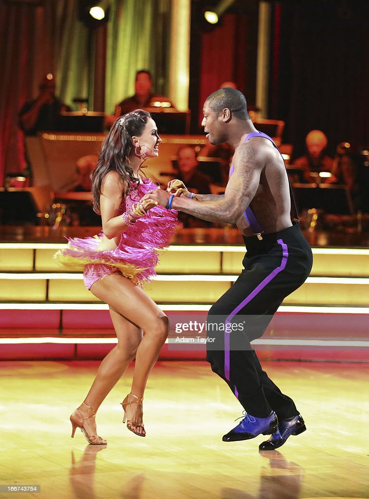 STARS - 'Episode 1605' - Nine remaining couples hit the dance floor and faced an exciting new challenge MONDAY, APRIL 15 (8:00-10:01 p.m., ET). In another first for 'Dancing with the Stars,' a new twist called 'Len's Side By Side Challenge' tasked each couple to perform a portion of their individual dance alongside a pro dance couple. KARINA