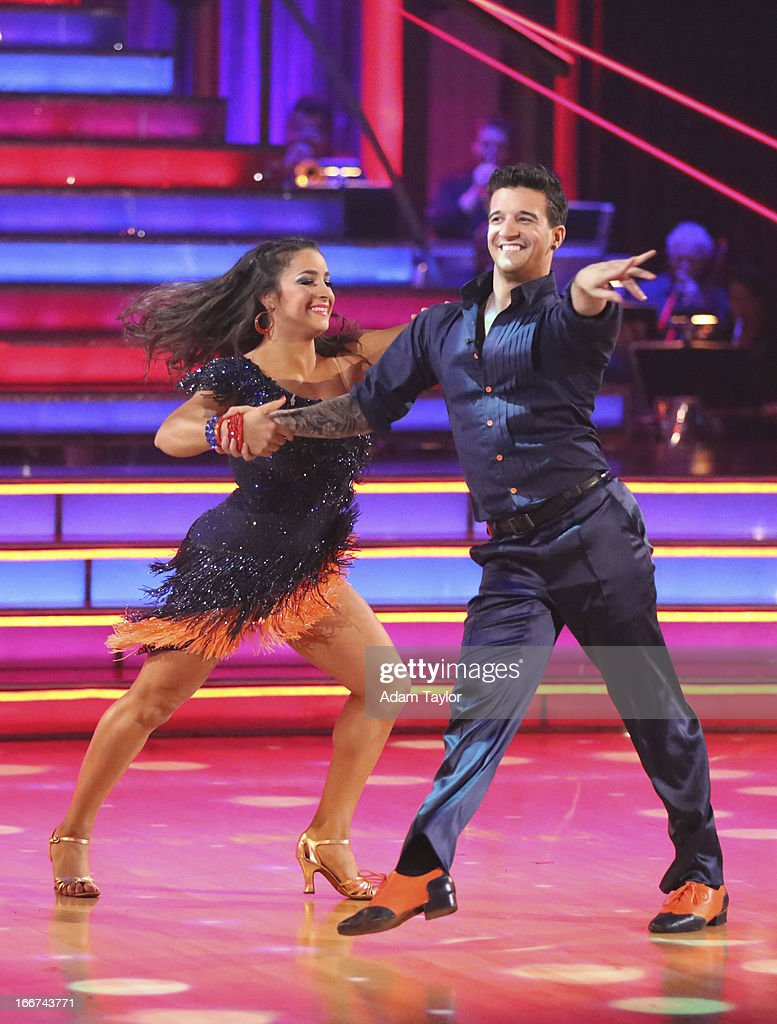 STARS - 'Episode 1605' - Nine remaining couples hit the dance floor and faced an exciting new challenge MONDAY, APRIL 15 (8:00-10:01 p.m., ET). In another first for 'Dancing with the Stars,' a new twist called 'Len's Side By Side Challenge' tasked each couple to perform a portion of their individual dance alongside a pro dance couple. ALEXANDRA