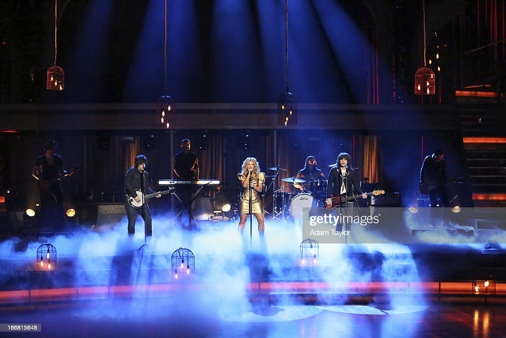 SHOW - 'Episode 1605A' - Country Rock group The Band Perry performed their hit No. 1 song, 'Better Dig Two,' TUESDAY, APRIL 16 (9:00-10:01 p.m., ET), on 'Dancing with the Stars the Results Show' on ABC. PERRY