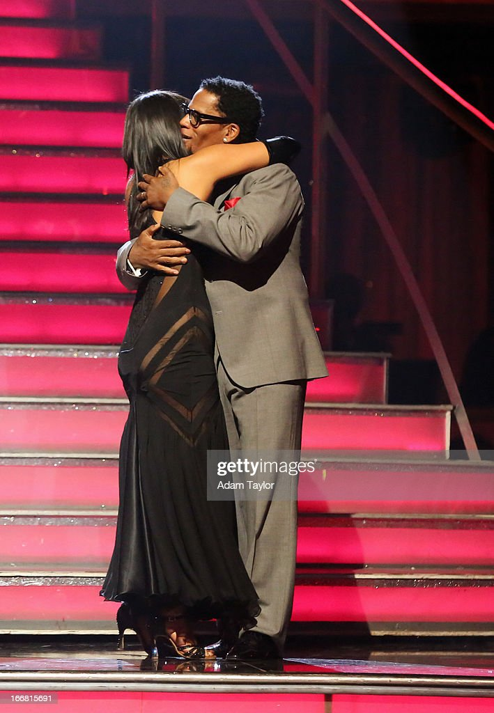 SHOW - 'Episode 1605A' - D.L. Hughley and Cheryl Burke were the next couple to be eliminated, TUESDAY, APRIL 16 (9:00-10:01 p.m., ET), on 'Dancing with the Stars the Results Show' on ABC. L. HUGHLEY