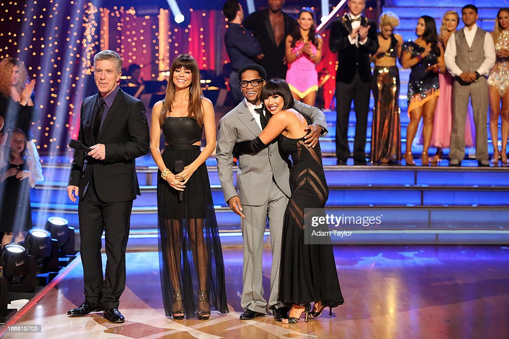 SHOW - 'Episode 1605A' - D.L. Hughley and Cheryl Burke were the next couple to be eliminated, TUESDAY, APRIL 16 (9:00-10:01 p.m., ET), on 'Dancing with the Stars the Results Show' on ABC. BURKE