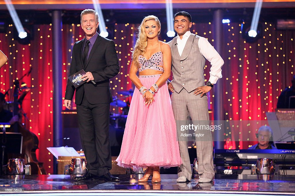 SHOW - 'Episode 1605A' - The remaining couples awaited elimination results on TUESDAY, APRIL 16 (9:00-10:01 p.m., ET), on 'Dancing with the Stars the Results Show' on ABC. ORTIZ