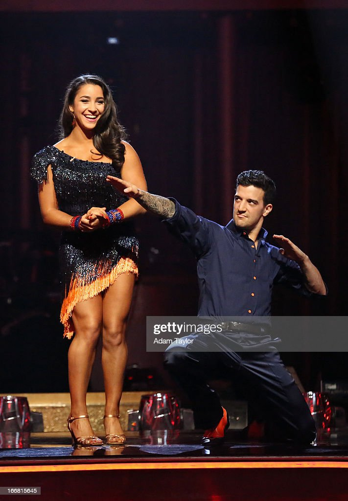 SHOW - 'Episode 1605A' - The remaining couples awaited elimination results on TUESDAY, APRIL 16 (9:00-10:01 p.m., ET), on 'Dancing with the Stars the Results Show' on ABC. ALEXANDRA