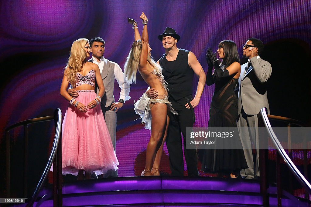 SHOW - 'Episode 1605A' - The remaining couples awaited elimination results on TUESDAY, APRIL 16 (9:00-10:01 p.m., ET), on 'Dancing with the Stars the Results Show' on ABC. L. HUGHLEY