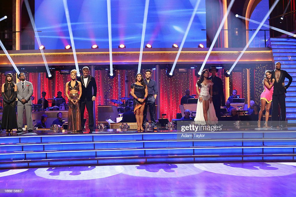 SHOW - 'Episode 1605A' - The remaining couples awaited elimination results on TUESDAY, APRIL 16 (9:00-10:01 p.m., ET), on 'Dancing with the Stars the Results Show' on ABC. JONES