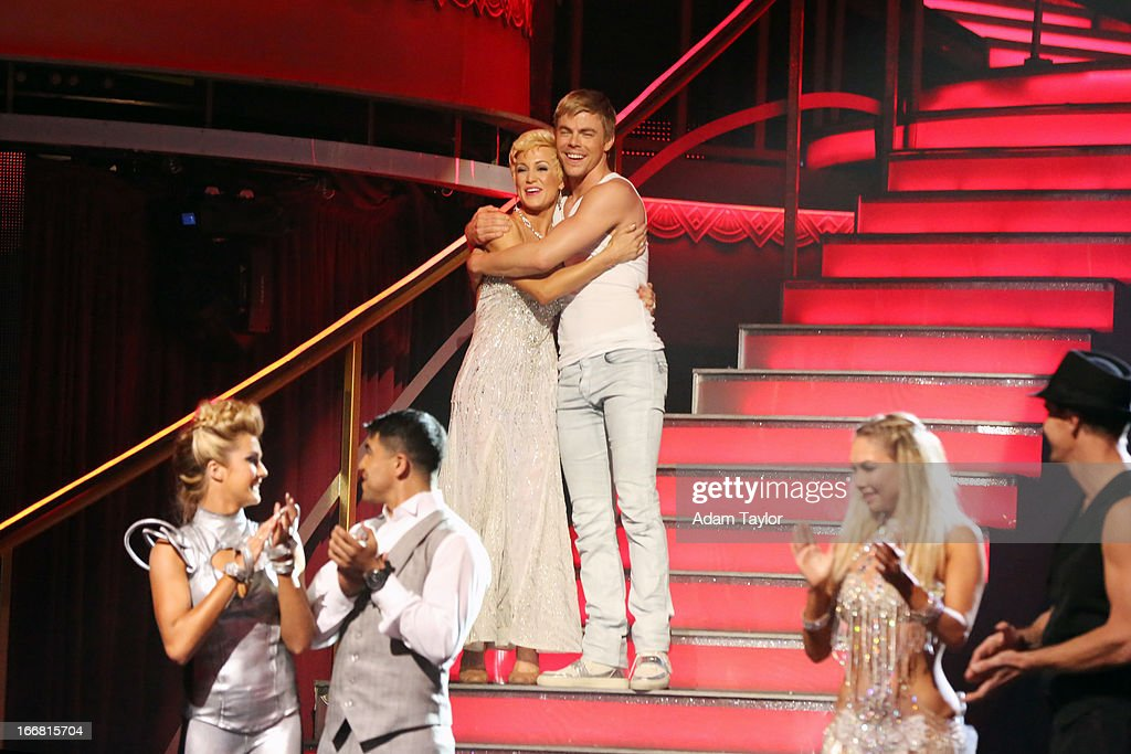 SHOW - 'Episode 1605A' - The remaining couples awaited elimination results on TUESDAY, APRIL 16 (9:00-10:01 p.m., ET), on 'Dancing with the Stars the Results Show' on ABC. LINDSAY