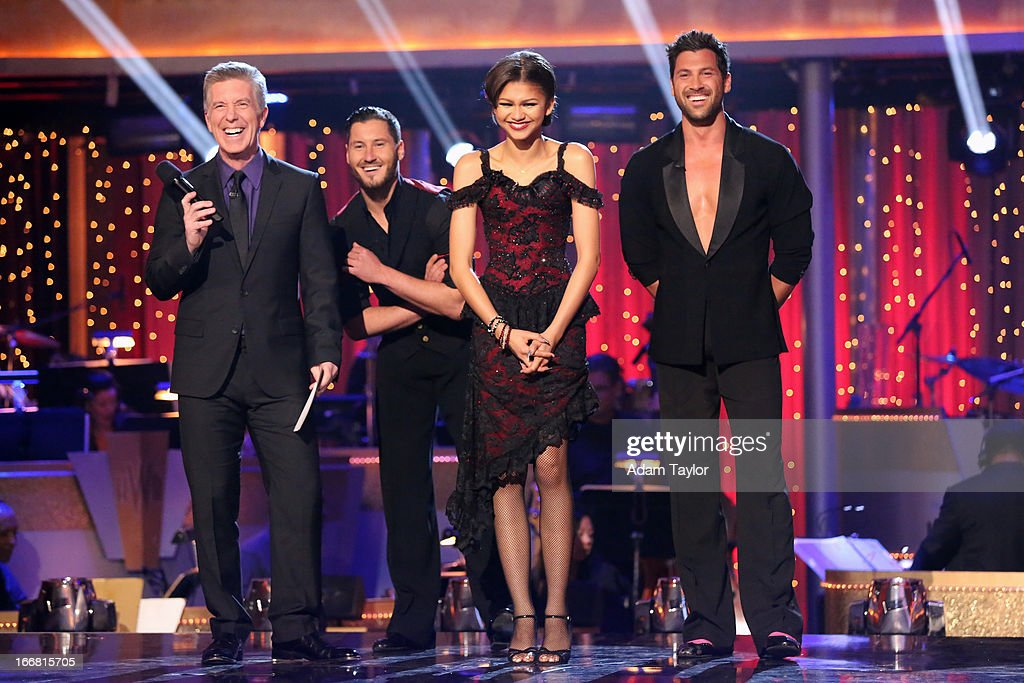 SHOW - 'Episode 1605A' - The remaining couples awaited elimination results on TUESDAY, APRIL 16 (9:00-10:01 p.m., ET), on 'Dancing with the Stars the Results Show' on ABC. TOM