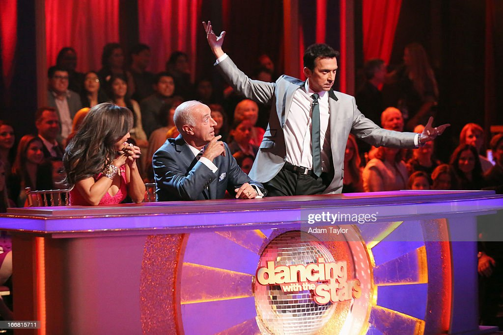 SHOW - 'Episode 1605A' - The remaining couples awaited elimination results on TUESDAY, APRIL 16 (9:00-10:01 p.m., ET), on 'Dancing with the Stars the Results Show' on ABC. CARRIE