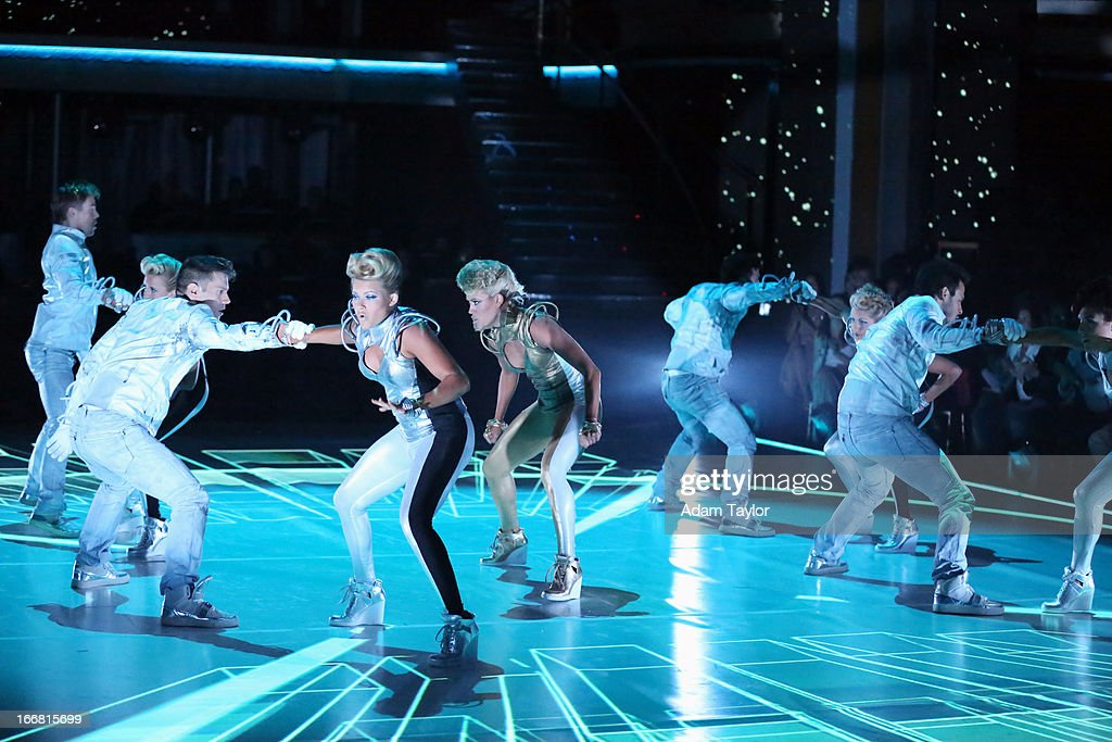 SHOW - 'Episode 1605A' - The results show featured a spectacular opening number choreographed by Mark Ballas and Derek Hough, TUESDAY, APRIL 16 (9:00-10:01 p.m., ET), on 'Dancing with the Stars the Results Show' on ABC.