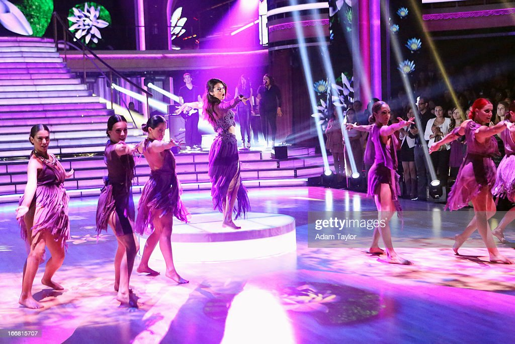 SHOW - 'Episode 1605A' - World-wide, multi-Platinum-selling Hollywood Records recording artist Selena Gomez debuted her new single, 'Come & Get It,' this April, TUESDAY, APRIL 16 (9:00-10:01 p.m., ET), on 'Dancing with the Stars the Results Show' on ABC. GOMEZ