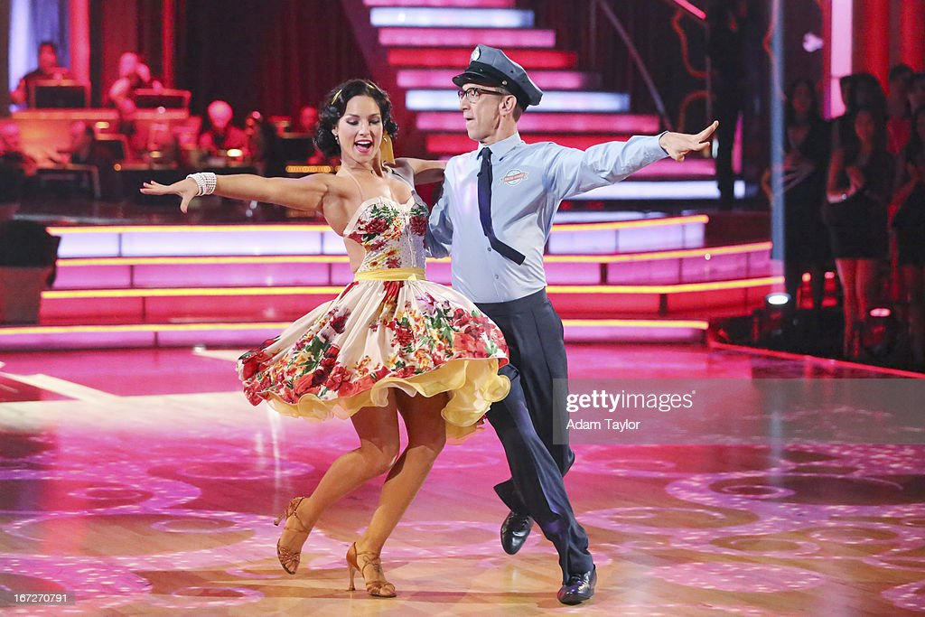 STARS - 'Episode 1606' - 'Episode 1606' - Eight remaining couples hit the dance floor and paid tribute to singer, songwriter and legend Stevie Wonder, on 'Dancing with the Stars,' MONDAY, APRIL 22 (8:00-10:01 p.m., ET), on ABC. DICK