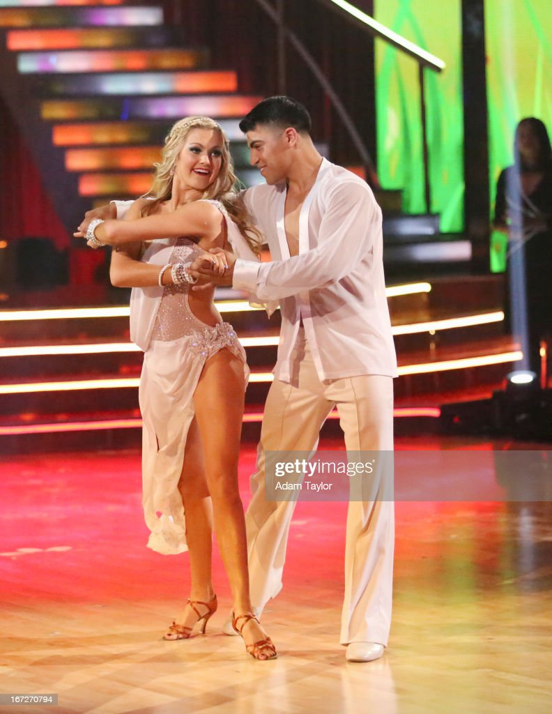 STARS - 'Episode 1606' - 'Episode 1606' - Eight remaining couples hit the dance floor and paid tribute to singer, songwriter and legend Stevie Wonder, on 'Dancing with the Stars,' MONDAY, APRIL 22 (8:00-10:01 p.m., ET), on ABC. ORTIZ
