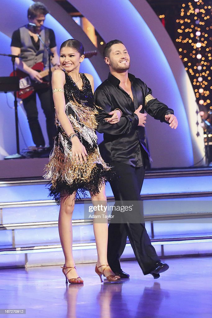 STARS - 'Episode 1606' - 'Episode 1606' - Eight remaining couples hit the dance floor and paid tribute to singer, songwriter and legend Stevie Wonder, on 'Dancing with the Stars,' MONDAY, APRIL 22 (8:00-10:01 p.m., ET), on ABC. ZENDAYA, VAL
