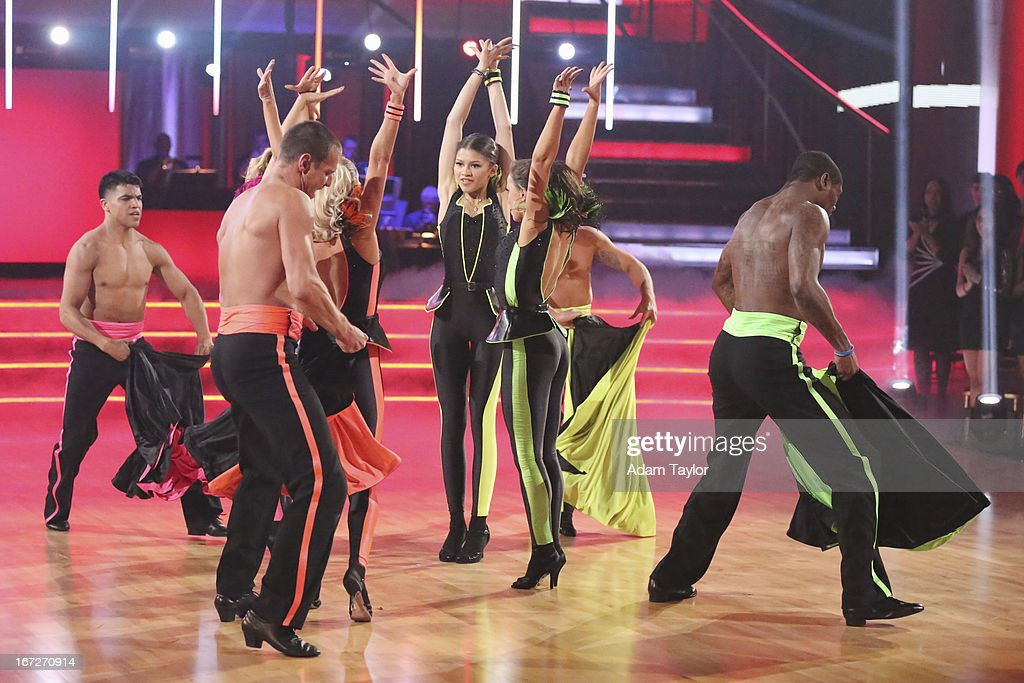 STARS - 'Episode 1606' - 'Episode 1606' - Eight remaining couples hit the dance floor and paid tribute to singer, songwriter and legend Stevie Wonder, on 'Dancing with the Stars,' MONDAY, APRIL 22 (8:00-10:01 p.m., ET), on ABC. VICTOR