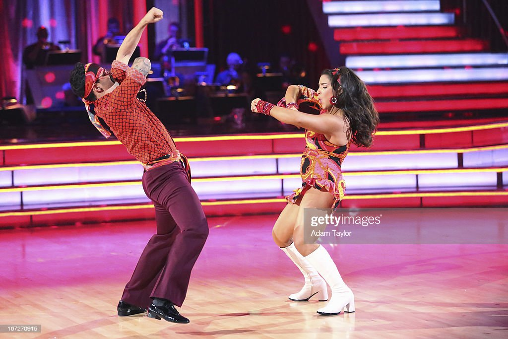STARS - 'Episode 1606' - 'Episode 1606' - Eight remaining couples hit the dance floor and paid tribute to singer, songwriter and legend Stevie Wonder, on 'Dancing with the Stars,' MONDAY, APRIL 22 (8:00-10:01 p.m., ET), on ABC. MARK