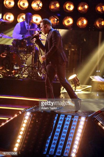 SHOW 'Episode 1606A' International superstar Olly Murs performed his current hit 'Troublemaker' on 'Dancing with the Stars the Results Show' TUESDAY...