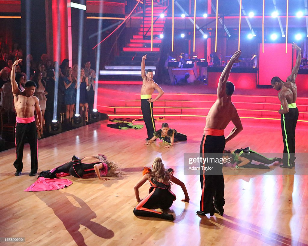 SHOW - 'Episode 1606A' - Team Paso gave the audience an encore performance on 'Dancing with the Stars the Results Show,' TUESDAY, APRIL 23 (9:00-10:01 p.m., ET), on ABC. JONES