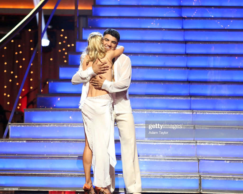 SHOW - 'Episode 1606A' - Victor Ortiz and Lindsay Arnold were the next couple eliminated on 'Dancing with the Stars the Results Show,' TUESDAY, APRIL 23 (9:00-10:01 p.m., ET), on ABC. ORTIZ