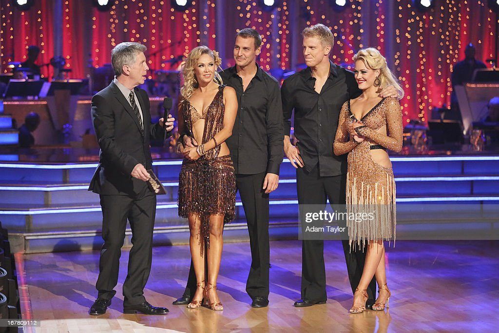 STARS - 'Episode 1607' - In a new twist and another 'Dancing with the Stars' first, the couple with the highest overall score for the night was granted immunity from elimination on Tuesday. The couples who did not receive immunity then competed in a dance-off to earn extra judges' points in an effort to increase their overall score, on 'Dancing with the Stars,' MONDAY, APRIL 29 (8:00-10:01 p.m., ET), on ABC. TOM