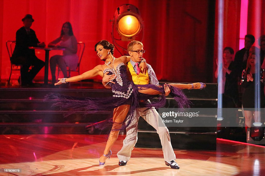 STARS - 'Episode 1607' - It was Latin Night on 'Dancing with the Stars,' as seven remaining couples took to the ballroom floor and performed to a Latin-inspired hit, MONDAY, APRIL 29 (8:00-10:01 p.m., ET), on ABC. SHARNA