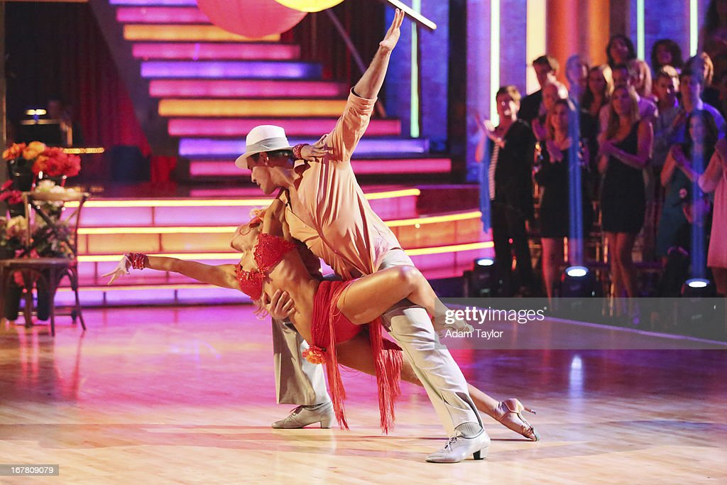 STARS - 'Episode 1607' - It was Latin Night on 'Dancing with the Stars,' as seven remaining couples took to the ballroom floor and performed to a Latin-inspired hit, MONDAY, APRIL 29 (8:00-10:01 p.m., ET), on ABC. RADEMACHER