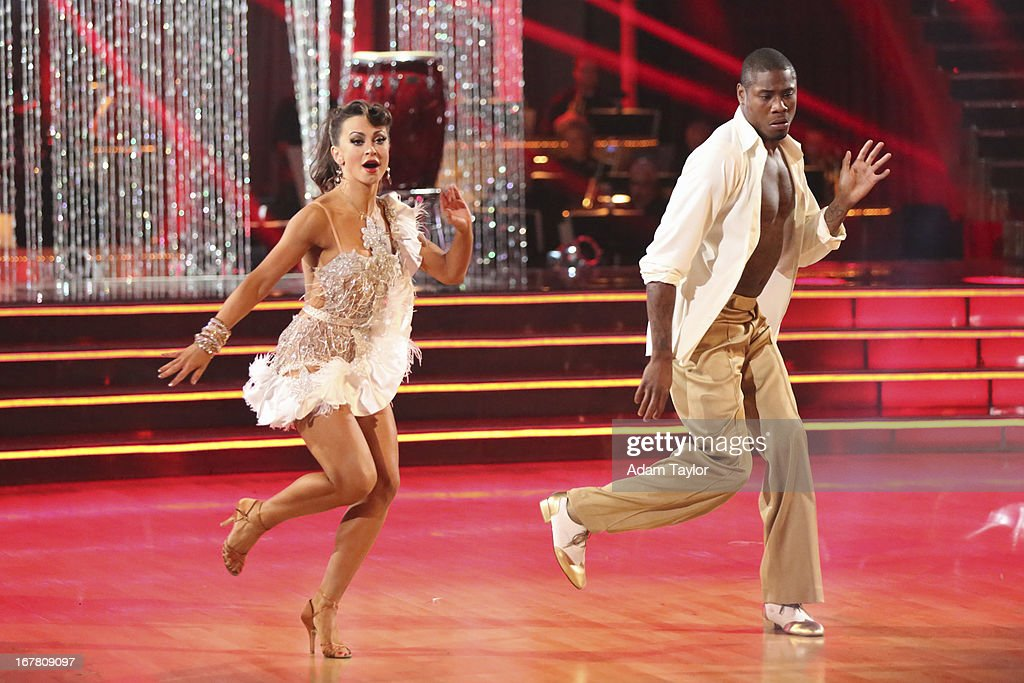 STARS - 'Episode 1607' - It was Latin Night on 'Dancing with the Stars,' as seven remaining couples took to the ballroom floor and performed to a Latin-inspired hit, MONDAY, APRIL 29 (8:00-10:01 p.m., ET), on ABC. KARINA