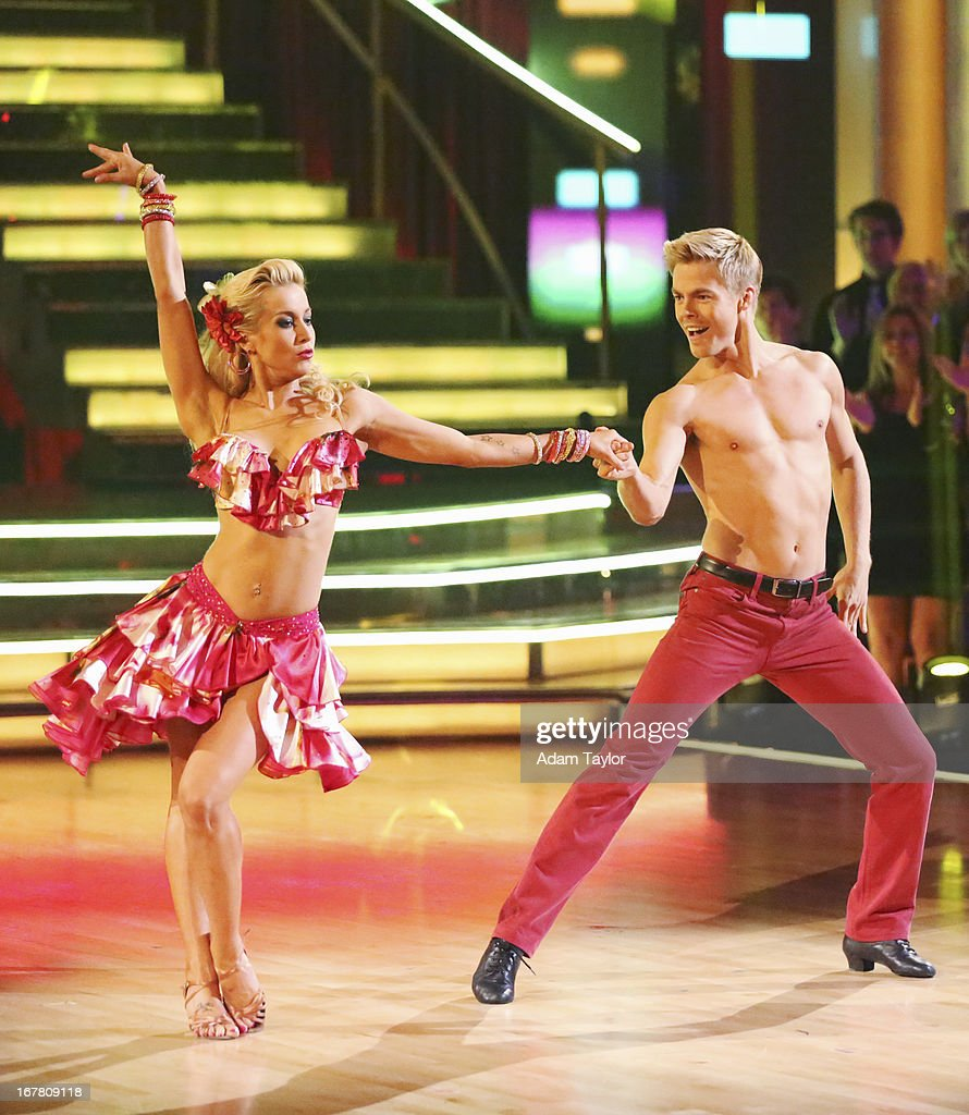 STARS - 'Episode 1607' - It was Latin Night on 'Dancing with the Stars,' as seven remaining couples took to the ballroom floor and performed to a Latin-inspired hit, MONDAY, APRIL 29 (8:00-10:01 p.m., ET), on ABC. KELLIE