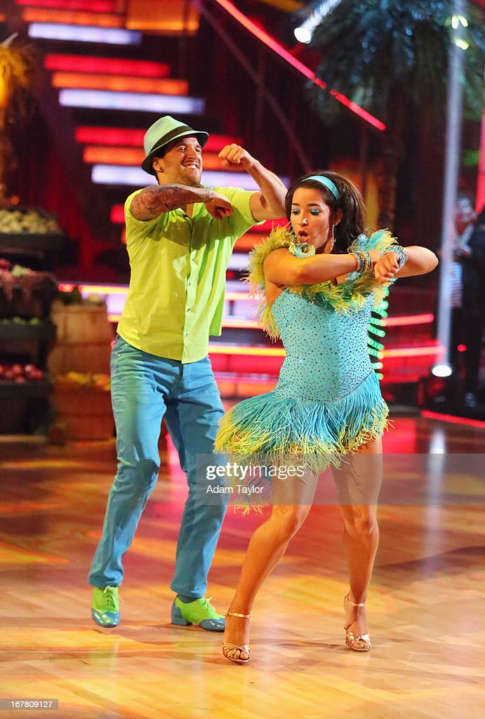 STARS - 'Episode 1607' - It was Latin Night on 'Dancing with the Stars,' as seven remaining couples took to the ballroom floor and performed to a Latin-inspired hit, MONDAY, APRIL 29 (8:00-10:01 p.m., ET), on ABC. MARK
