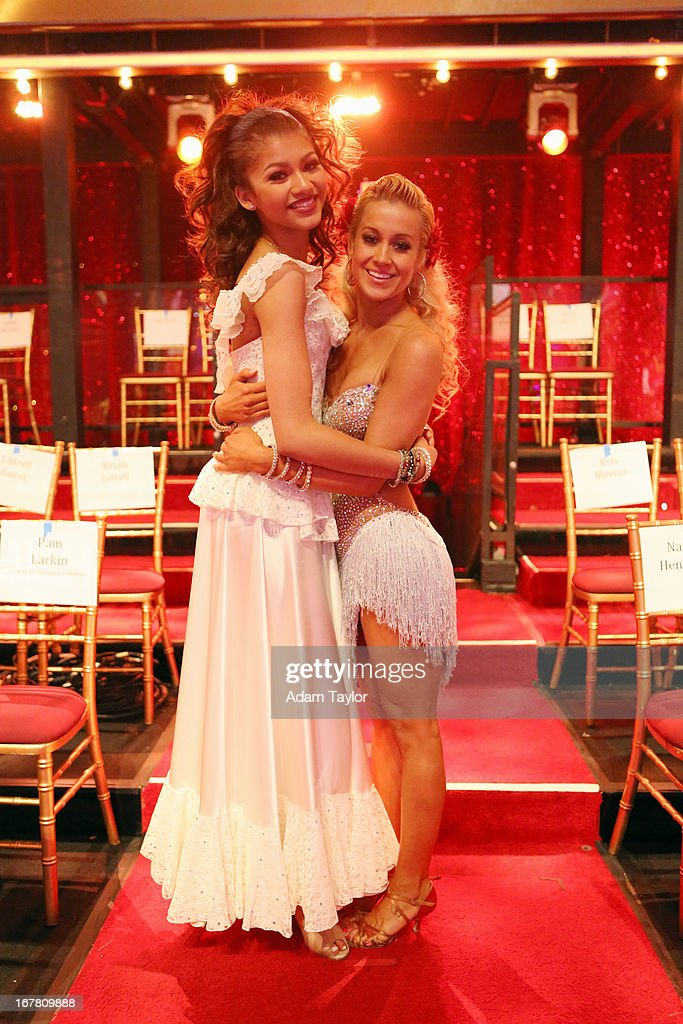 STARS - 'Episode 1607' - It was Latin Night on 'Dancing with the Stars,' as seven remaining couples took to the ballroom floor and performed to a Latin-inspired hit, MONDAY, APRIL 29 (8:00-10:01 p.m., ET), on ABC. ZENDAYA, KELLIE