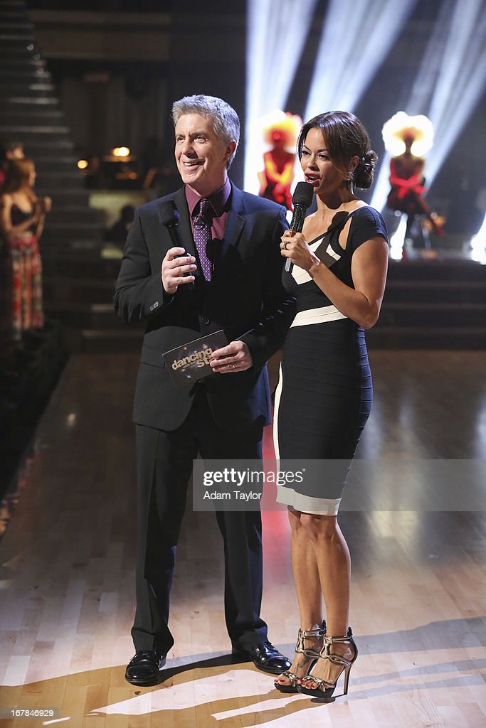 SHOW - 'Episode 1607A' - 'Dancing with the Stars the Results Show' aired TUESDAY, APRIL 30 (9:00-10:01 p.m., ET), on ABC. CHARVET