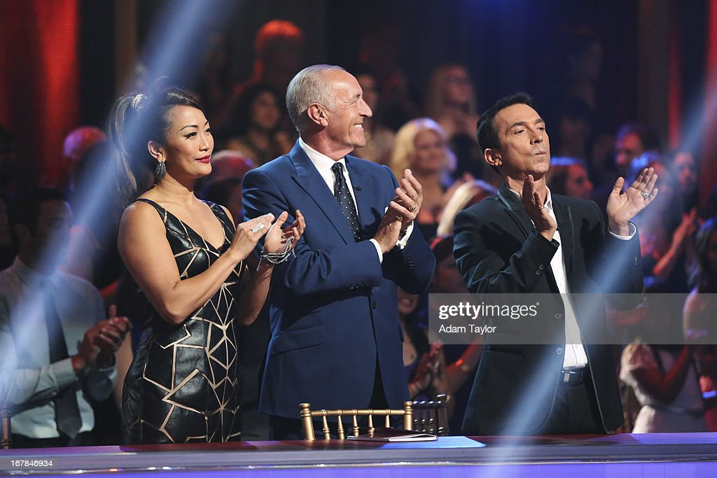 SHOW - 'Episode 1607A' - 'Dancing with the Stars the Results Show' aired TUESDAY, APRIL 30 (9:00-10:01 p.m., ET), on ABC. TONIOLI