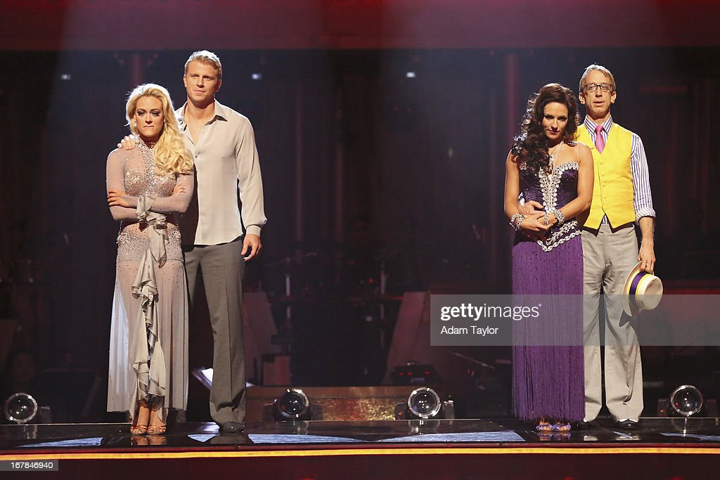 SHOW - 'Episode 1607A' - The remaining couples awaited the elimination results, on 'Dancing with the Stars the Results Show,' TUESDAY, APRIL 30 (9:00-10:01 p.m., ET), on ABC. PETA