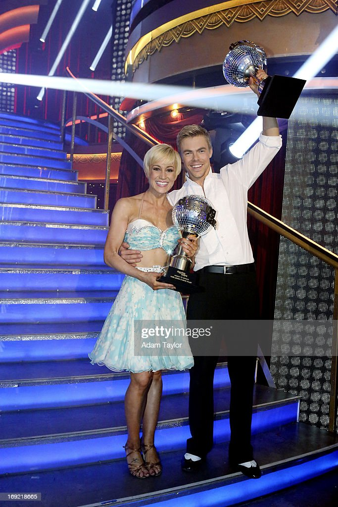 SHOW - 'Episode 1610A' -- After 10 weeks of entertaining, Kellie Pickler and Derek Hough were crowned 'Dancing with the Stars' Champions. on the two-hour Season Finale of 'Dancing with the Stars the Results Show,' TUESDAY, MAY 21 (9:00-11:00 p.m., ET), on ABC. HOUGH