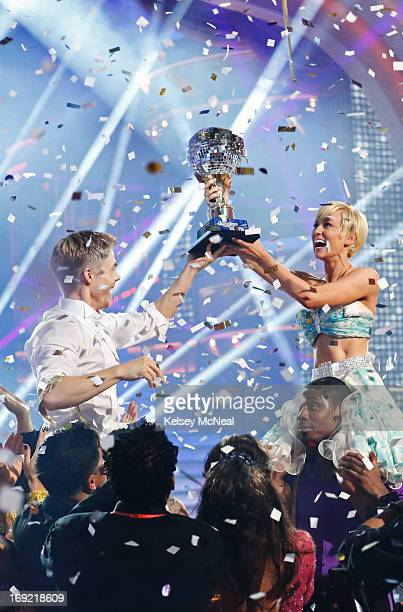 SHOW 'Episode 1610A' After 10 weeks of entertaining stylized dancing Kellie Pickler and Derek Hough were crowned 'Dancing with the Stars' Champions...
