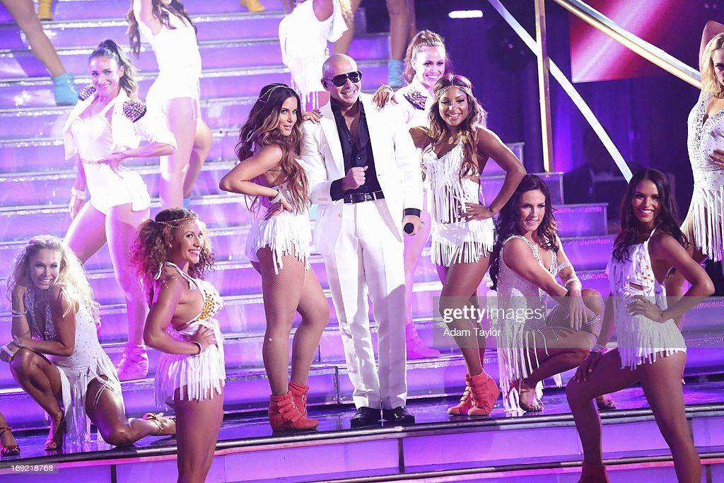 SHOW - 'Episode 1610A' - The show featured music from Pitbull, who performed his new single, 'Hands Up,' on the two-hour Season Finale of 'Dancing with the Stars the Results Show,' TUESDAY, MAY 21 (9:00-11:00 p.m., ET), on ABC. PITBULL
