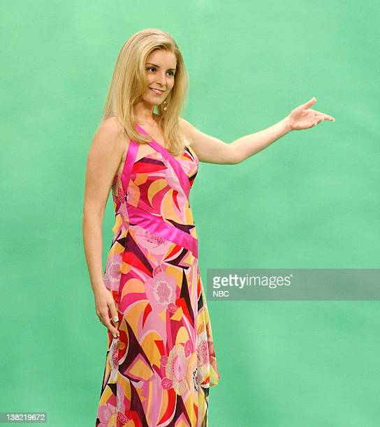 LIVE Episode 17 Aired Pictured Tina Fey as Vanna White during 'Wheel of Fortune' skit on May 6 2006
