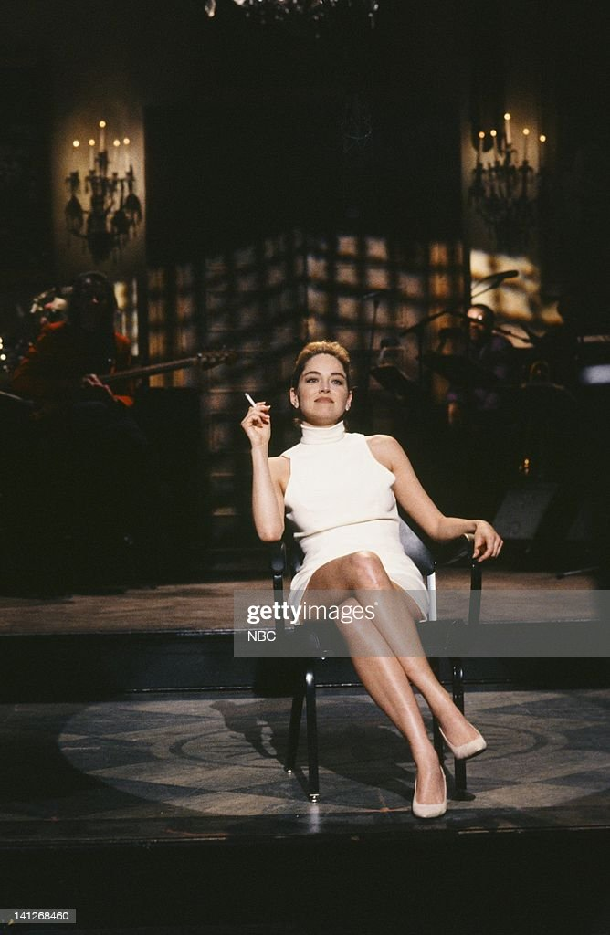 Sharon stone snl april 11 1992 3