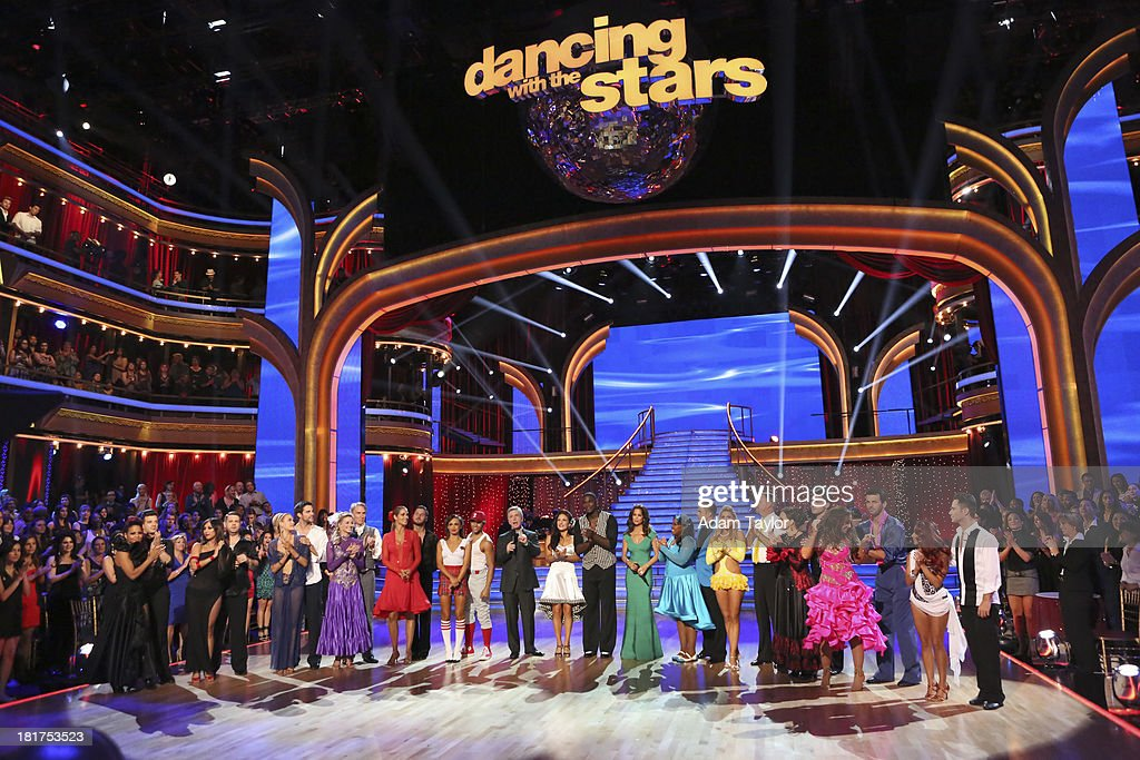 STARS - 'Episode 1702' - The competition heated up on a Latin-themed 'Dancing with the Stars' as the celebrities took on new dance routines - a Samba, Jive, Rumba or Paso - and fought for survival, MONDAY, SEPTEMBER 23 (8:00-10:01 p.m., ET), on the ABC Television Network. CHRISTINA MILIAN, MARK BALLAS, CHERYL BURKE, JACK OSBOURNE, PETA MURGATROYD, BRANT DAUGHERTY, TYNE STECKLEIN, BILL NYE, ELIZABETH BERKLEY LAUREN, VAL CHMERKOVSKIY, KARINA SMIRNOFF, CORBIN BLEU, TOM BERGERON, SHARNA BURGESS, KEYSHAWN JOHNSON, BROOKE BURKE-CHARVET, AMBER RILEY, DEREK HOUGH, EMMA SLATER, BILL ENGVALL, VALERIE HARPER, TRISTAN MACMANUS, LEAH REMINI, TONI DOVOLANI, NICOLE 'SNOOKI' POLIZZI, SASHA