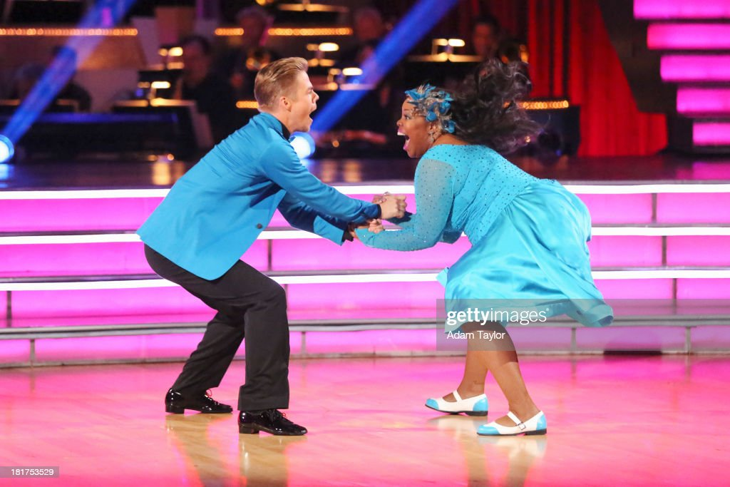 STARS - 'Episode 1702' - The competition heated up on a Latin-themed 'Dancing with the Stars' as the celebrities took on new dance routines - a Samba, Jive, Rumba or Paso - and fought for survival, MONDAY, SEPTEMBER 23 (8:00-10:01 p.m., ET), on the ABC Television Network. RILEY