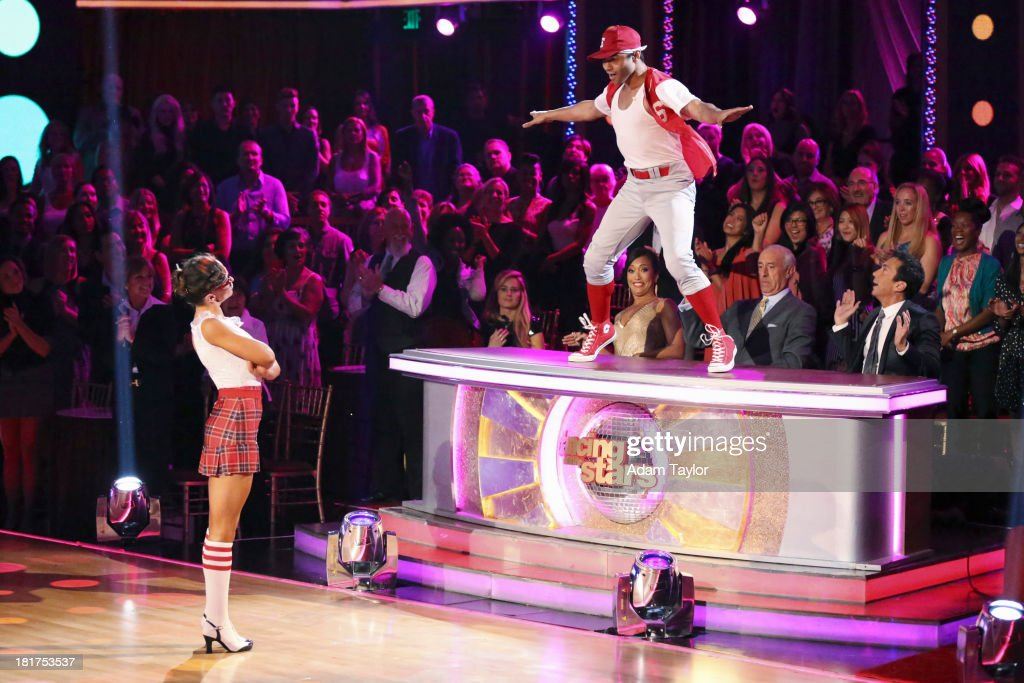 STARS - 'Episode 1702' - The competition heated up on a Latin-themed 'Dancing with the Stars' as the celebrities took on new dance routines - a Samba, Jive, Rumba or Paso - and fought for survival, MONDAY, SEPTEMBER 23 (8:00-10:01 p.m., ET), on the ABC Television Network. KARINA